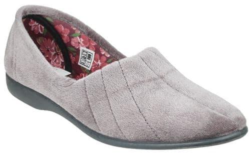 GBS Audrey Slipper Classic Ladies Slippers Grey